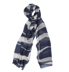 Smooth cotton scarf